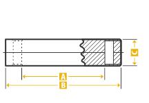 Standard End Pin